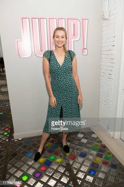 Baillie Riddell attends the Beyond Yoga x Amanda Kloots Collaboration Launch Event on August 27 2019 in New York City