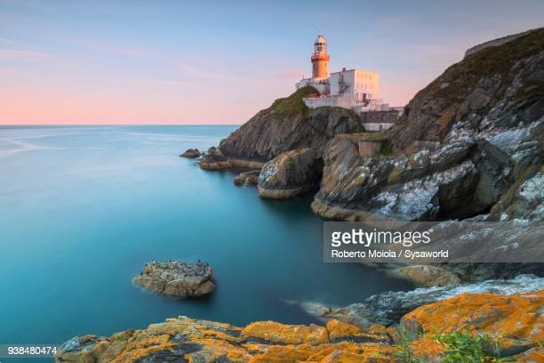 baily lighthouse, ireland - dublin stock pictures, royalty-free photos & images