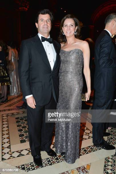 Baird Ryan and Alexia Hamm Ryan attend LHNH honours Geoffrey Bradfield and John Manice at Cipriani 42nd Street on April 18 2017 in New York City