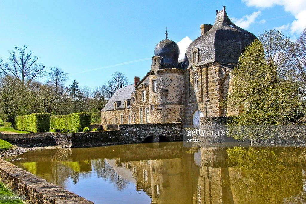 Castle 'chateau de Montesson'. : News Photo