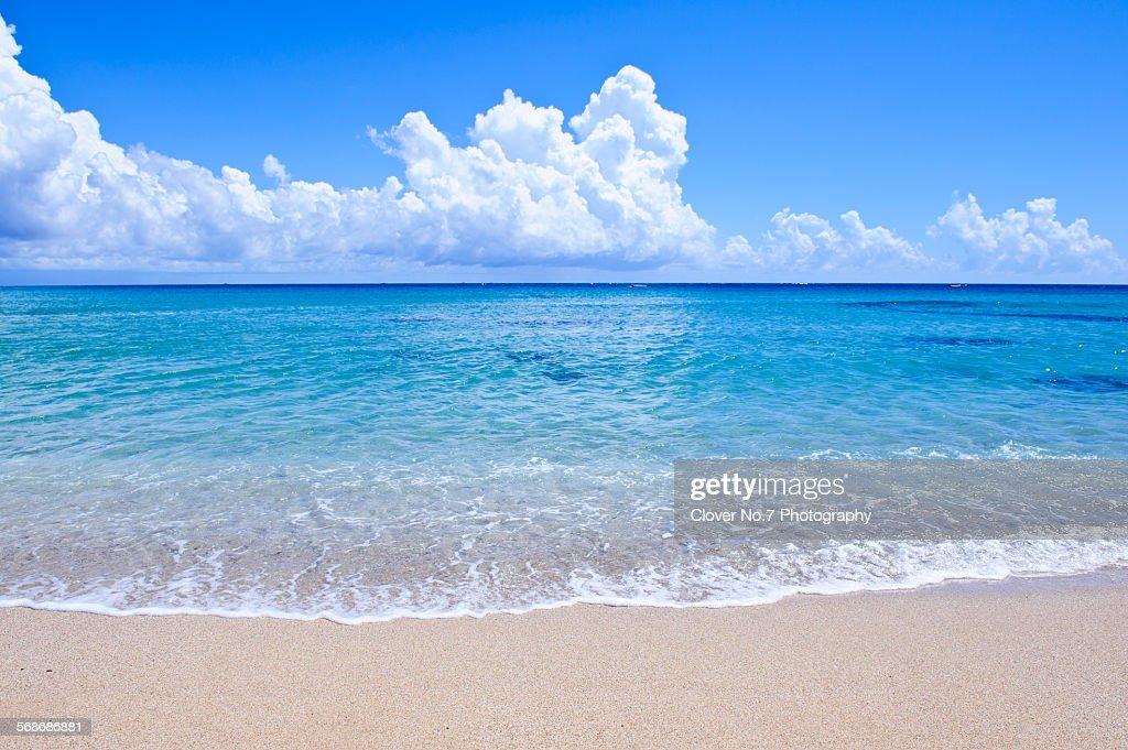 Baisha beach, Kenting, Taiwan. : Stock Photo