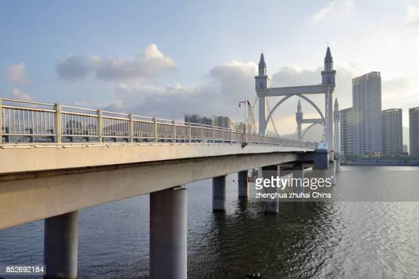 Baishi Bridge in Zhuhai China