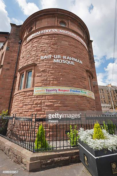 bait-ur-rahman mosque, glasgow - theasis stock pictures, royalty-free photos & images