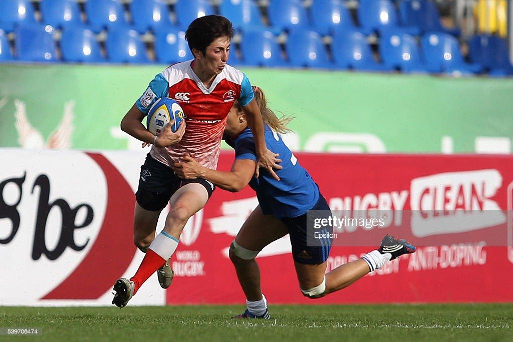 Rugby Europe Women Sevens Grand Prix In Kazan, Russia : News Photo