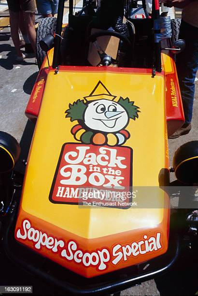SCORE Baja 500 OffRoad Race Jack In The Box restaurant sponsored Class 1 buggy