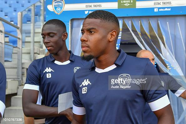 Bakary Sissoko And Warren Tchimbembe Of Troyes During The Ligue 2 News Photo Getty Images