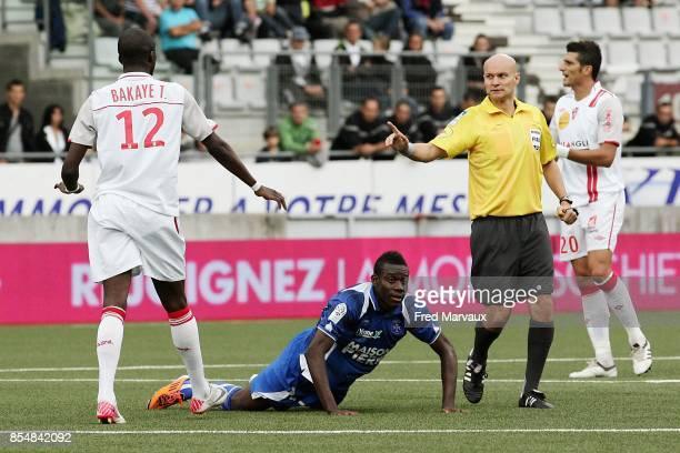 Bakaye TRAORE / Alain TRAORE / Tony CHAPRON Nancy / Auxerre 5eme journee de Ligue 1