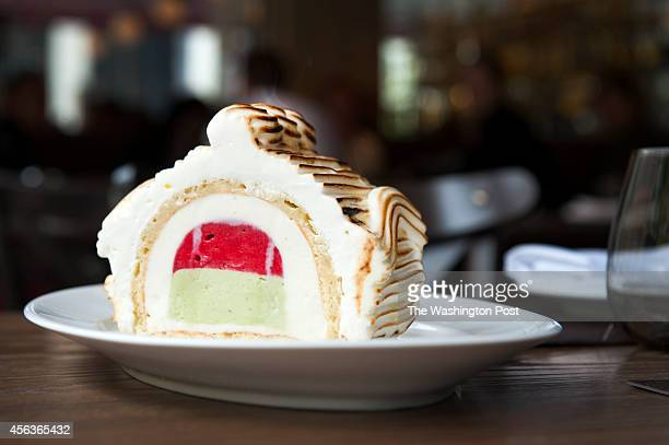 Baked Alaska is photographed at DBGB September 24 2014 in Washington DC