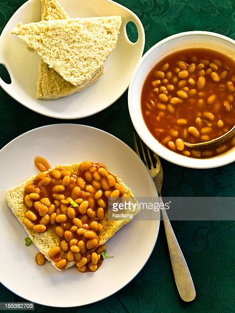 Baked beans and Soda bread