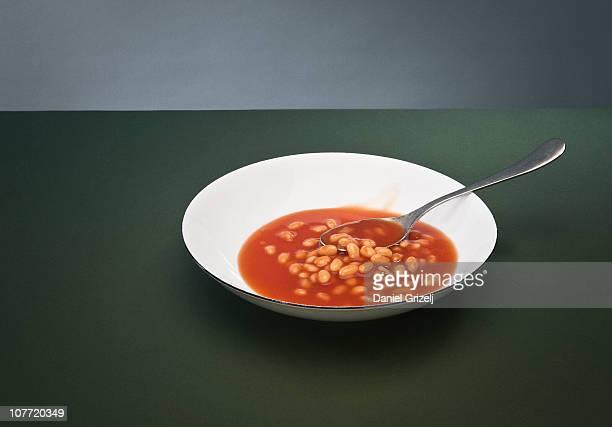 baked beans still life