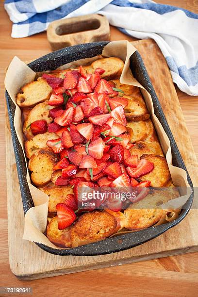 Baked French Toast and Berries