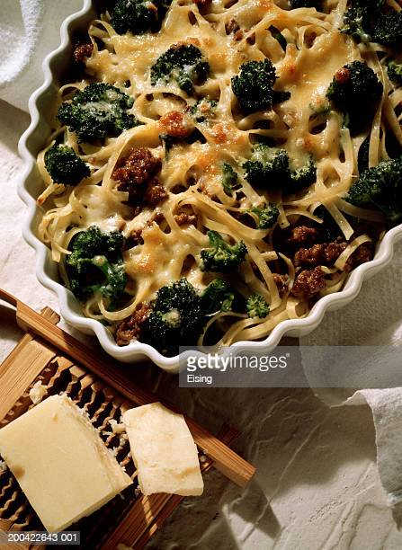 Baked Pasta with Broccoli & Ground Meat