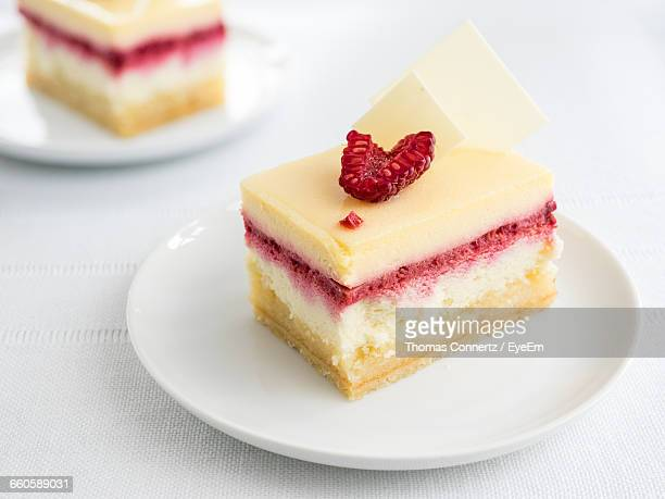Baked Pastry With Strawberry