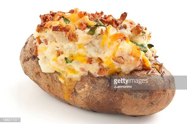 Image result for picture of a loaded potato