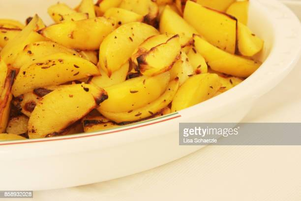 baked potatoe fries