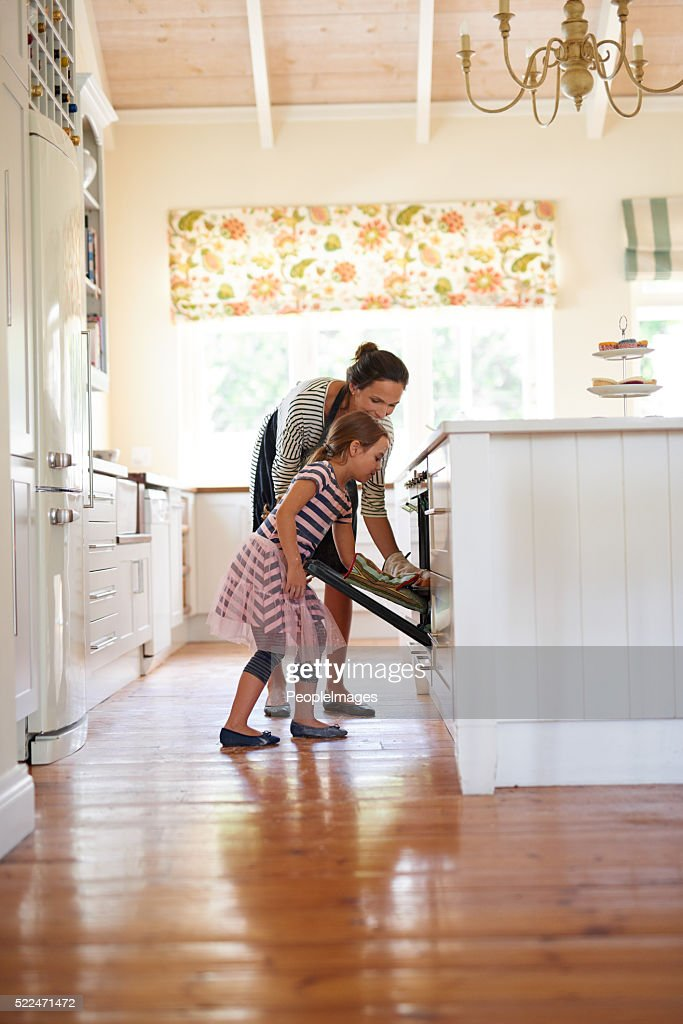 Baked with love : Stock Photo