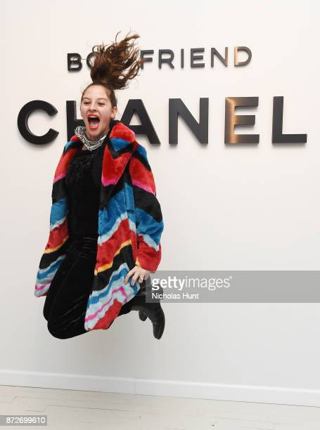 Baker Amirah Kassem attends as CHANEL celebrates the launch of the Coco Club a BoyFriend Watch event at The Wing Soho on November 10 2017 in New York...