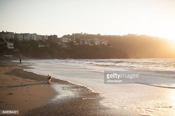 baker beach - jcbonassin stock-fotos und bilder