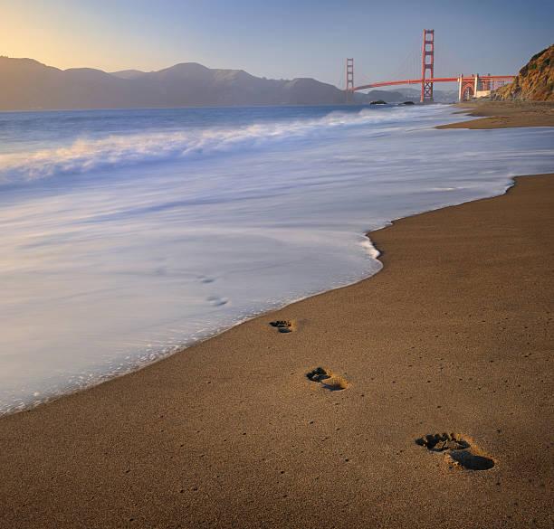 Baker Beach with Golden Gate Bridge