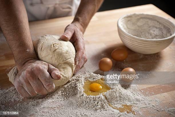 Baker Pâte à pétrir