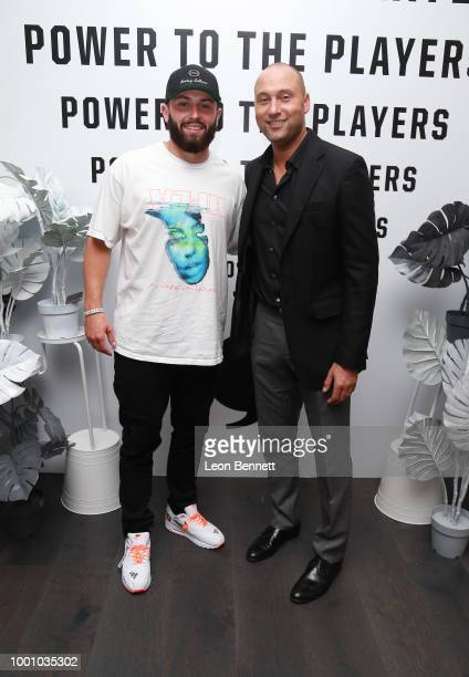 Kami Craig and Ashleigh Johnson attend Players' Night Out 2018 hosted by The Players' Tribune on July 17 2018 in Studio City California