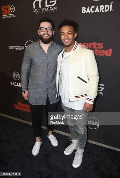 Baker Mayfield and Kyler Murray attend Sports Illustrated Saturday Night Lights powered by Matthew Gavin Enterprises and Talent Resources Sports on...