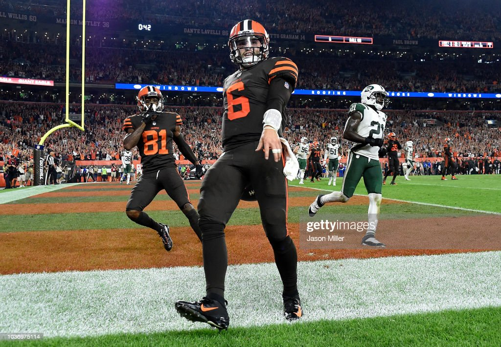 New York Jets v Cleveland Browns : News Photo