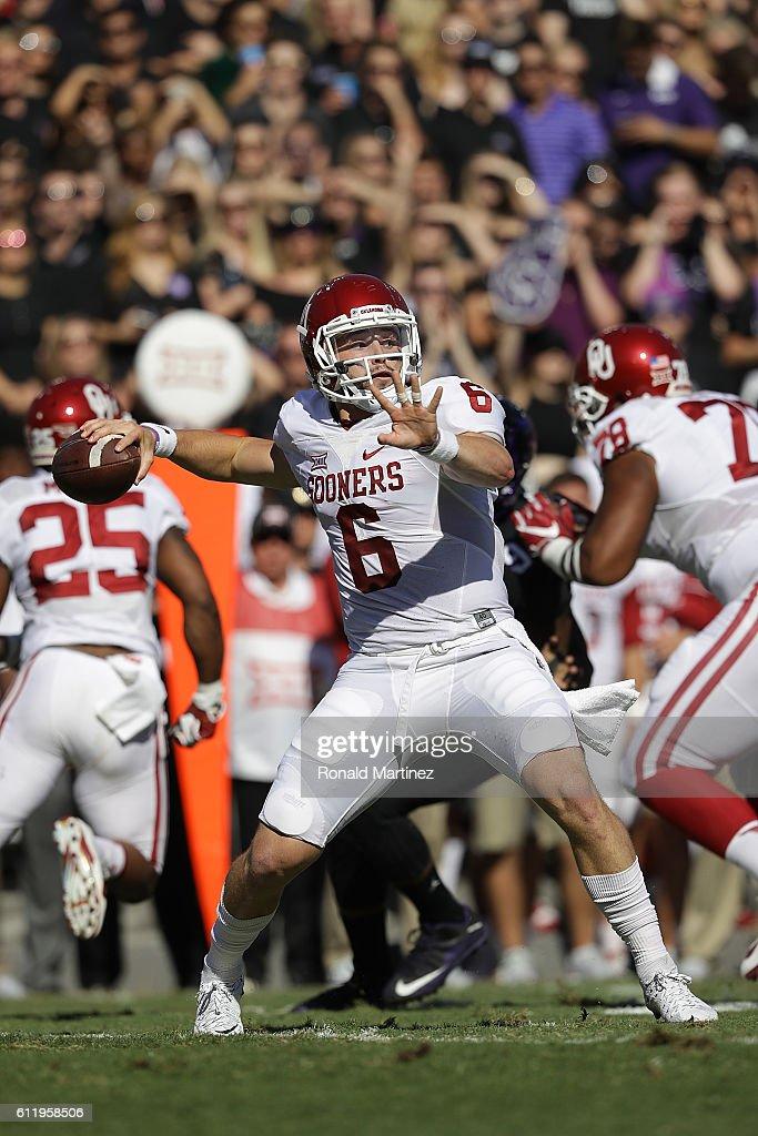 Oklahoma v TCU : ニュース写真