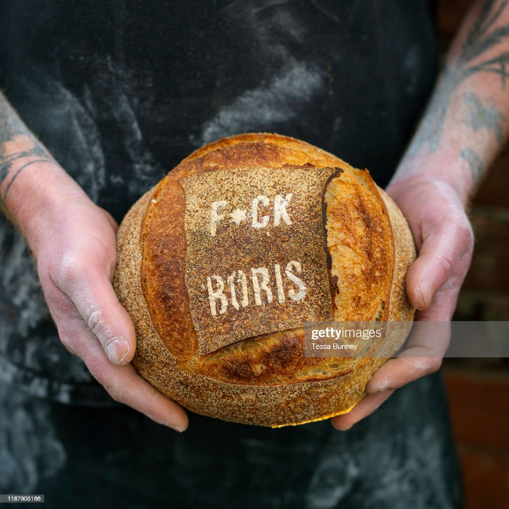 UK General Election Bread At The Haxby Bakehouse Artisan Bakery : News Photo