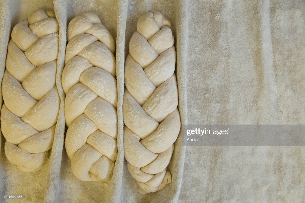 Bakery: breads baked in a wood-fired oven. : News Photo