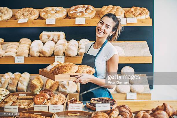 Bakery business owner