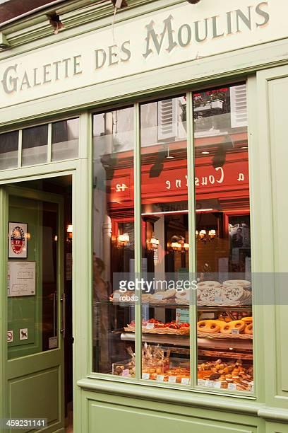 Bakery in the Montmatre.