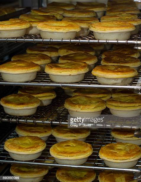 Bakery, pies baking
