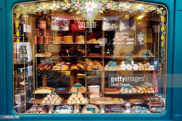 Bakery window.