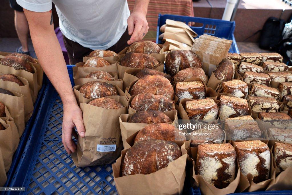 Artisan breads in Denver, Colorado USA : News Photo
