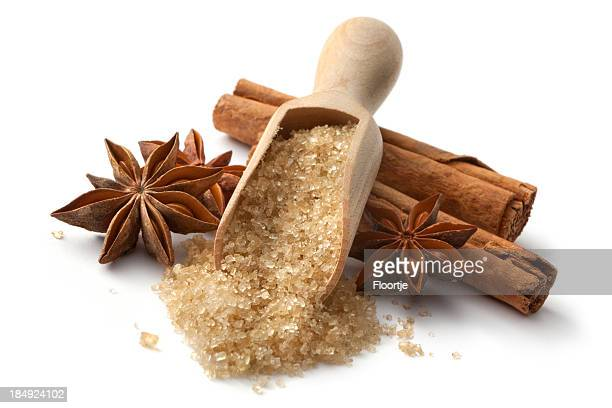 Backen Zutaten: Zimt, Anis und Zucker