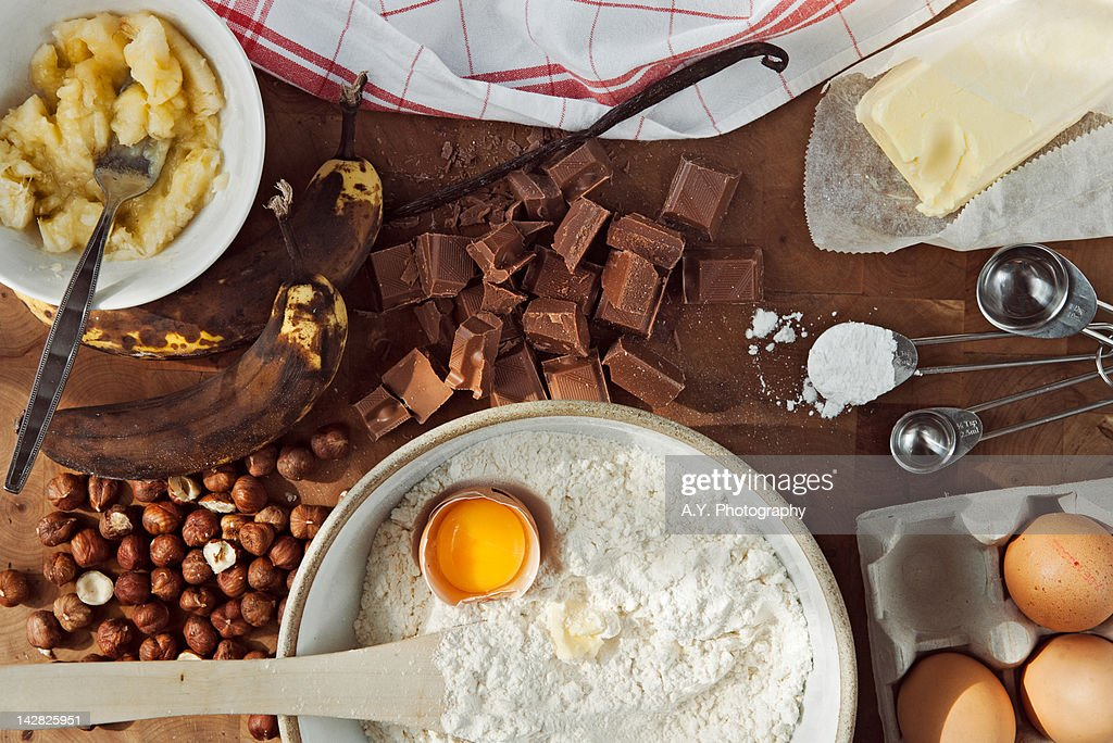 Baking Ingredients : Stock Photo