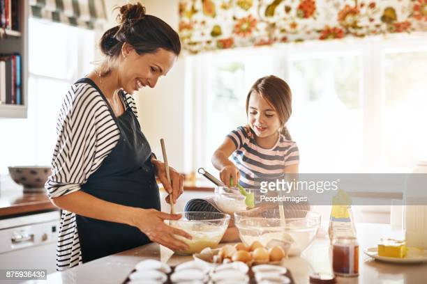 Baking is a great activity for bonding and learning