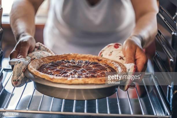 Pecan Pie im Ofen backen, für den Urlaub