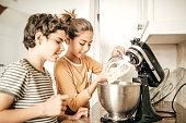 Baking siblings