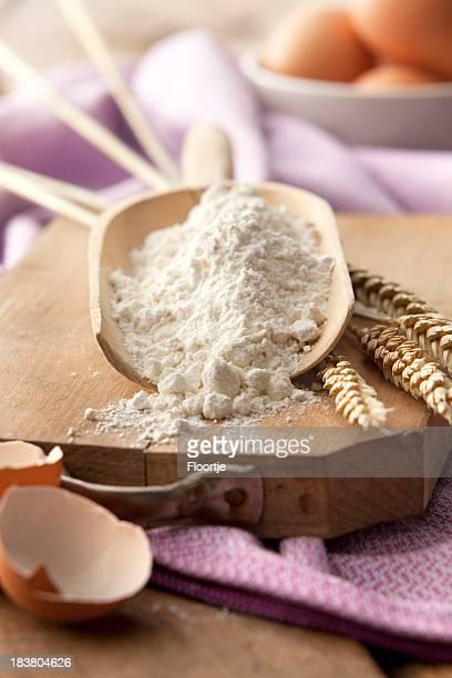 Baking Stills: Flour