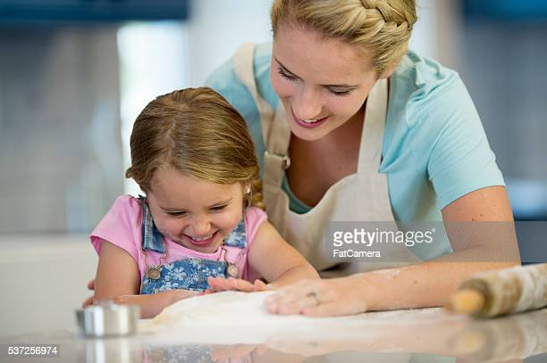 Baking Together in the Kitchen