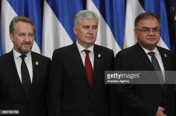 Bakir Izetbegovic Bosnian member of the Tripartite Presidency of Bosnia and Herzegovina Chairman of the Presidency of Bosnia and Herzegovina Mladen...