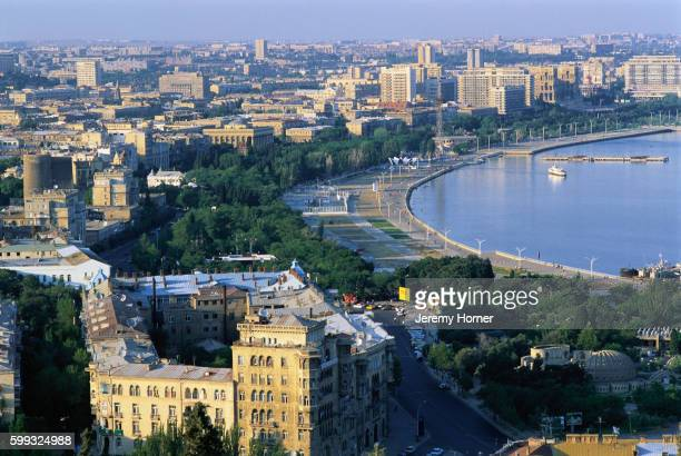 Baku and the Caspian Sea