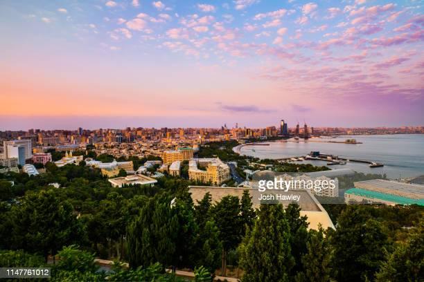 baku, azerbaijan - baku stock pictures, royalty-free photos & images