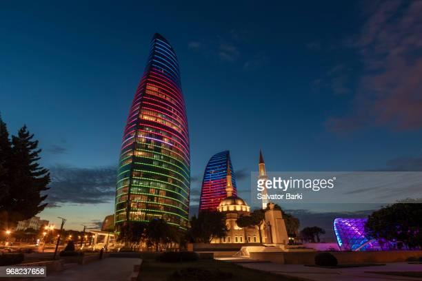 baku, azerbaijan - azerbaijan stock pictures, royalty-free photos & images