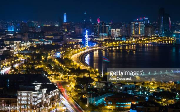 Baku city by night