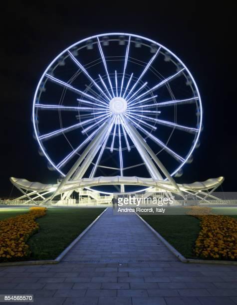 Baku ferris wheel ( also known as Baku eye ), Azerbaijan