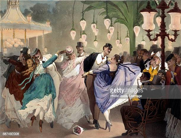 Bal Mabille by Philippe Jacques Linder Musee de la Ville de Paris Musee Carnavalet Paris France