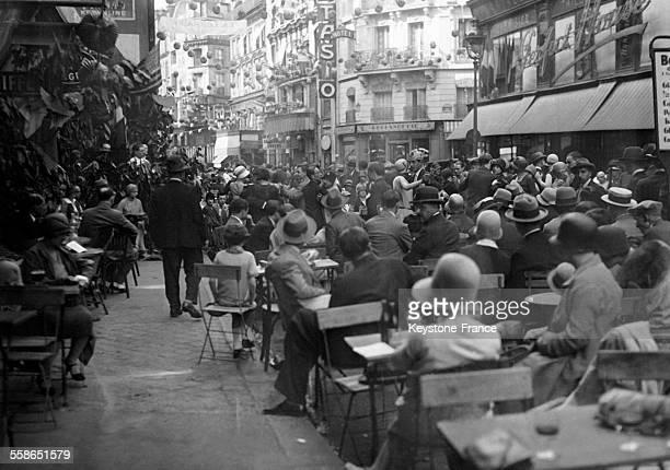 Bal à Paris France le 14 juillet 1930